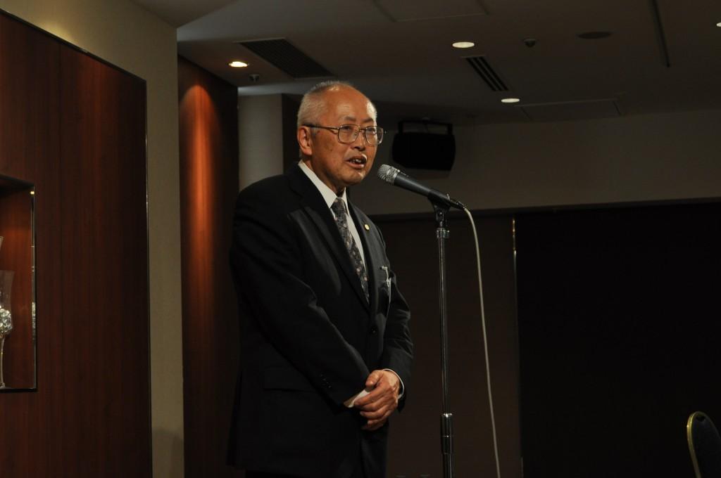 開会の言葉 石川光男先生