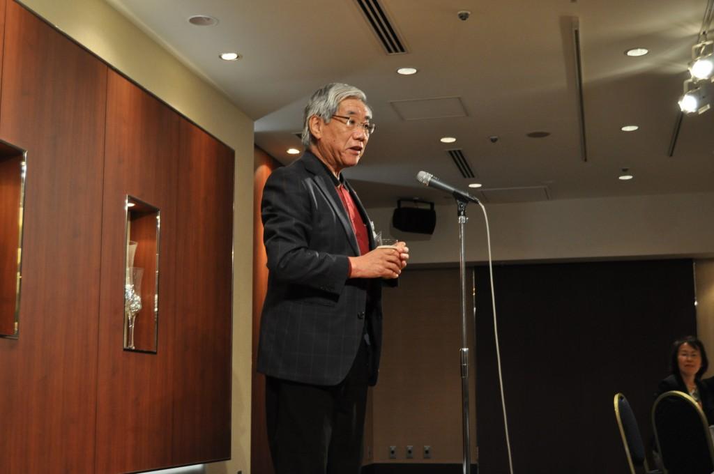 乾杯 増田政彦先生