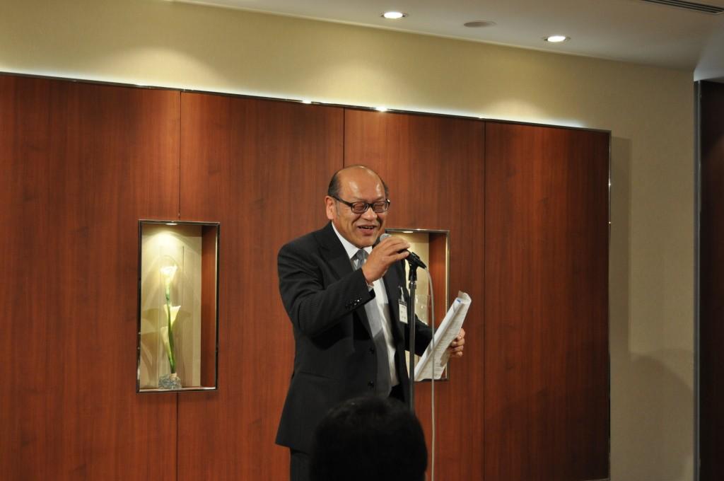 閉会の言葉 田中利顕先生
